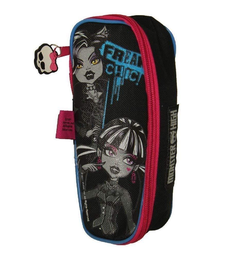 2x para niños niñas Monster High ataúd bolígrafos estuche escuela papelería regalo