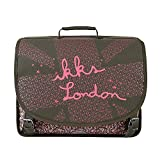 Cartable 41 Kaki IKKS LONDON