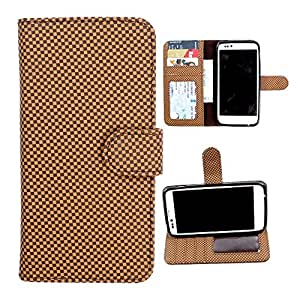 For Samsung Galaxy Grand Max - DooDa Quality PU Leather Flip Wallet Case Cover With Magnetic Closure, Card & Cash Pockets
