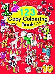 Copy Colouring Book 123