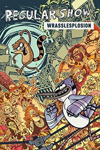 Regular Show Original GN Volume 4: Wrasslesplosion