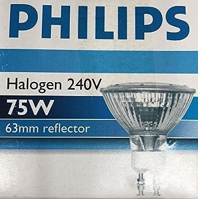 Philips GU10 ES63 75W 75 Watt Halogen Reflektor Cool Beam 240V B13 Par20
