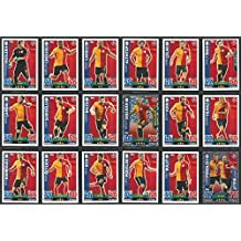 Topps Champions League Match Attax 15/16 Galatasaray Team Base Set 2015/2016 Including Star Player & Duo Trading Cards