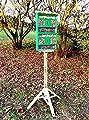 XXL insektenhotel, mit Holzrinde-Naturdach, FDV-HOST-OS grasgrün Marien Käfer grün Garten grüner nistkästen Insekten als Ergänzung zum Meisen nistkästen Meisenkasten oder zum Vogelhaus Vogelfutterhaus Futterstation für Vögel Insektenhäuschen - i