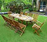 Gartenmöbel-Set für 8-10 Personen, 2er-Set
