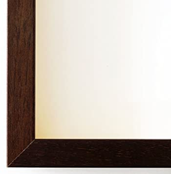 Wonderful Bilderrahmen COMO Brown Wood Texture 2, Exchangeable Frame With Float Glass  2mm (Normal Glass Awesome Design