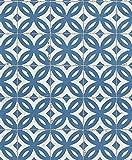 Rasch Tapeten VliesTapete Kollektion Crispy Paper, blau, 524703