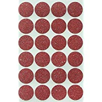 Colored Labels Round 2.5 cm - Dot Glitter Circle Stickers - Color Dots Label - rounds sticker
