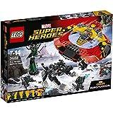 LEGO - 76084 - Marvel Super Heroes - Jeu de Construction - La bataille suprême pour la survie d'Asgard