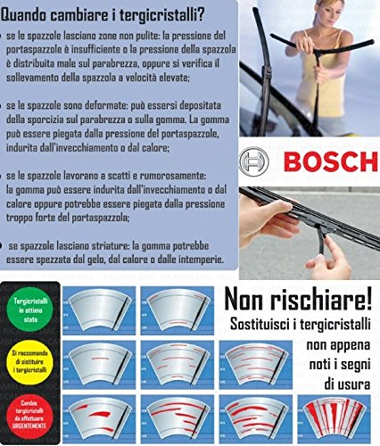 Bosch 3397118984 Kit spazzole tergicristallo