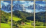 Schipper 609260760 - Malen nach Zahlen - St. Magdalena in Südtirol von Noris Spiele Georg Reulein GmbH & Co. KG