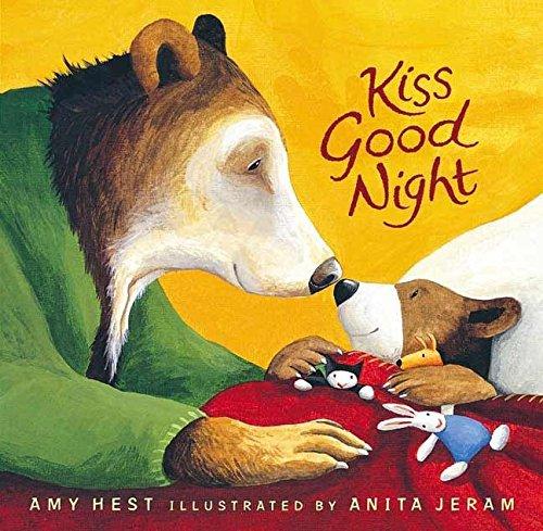 Kiss Good Night Lap-Size Board Book (Sam Books) - Amys Bären