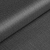 www.aktivstoffe.de Cordura® Ripstop - 5 x 5 mm - winddichter wasserdichter beschichteter Stoff - Polyester - Teflon - Meterware (grau)