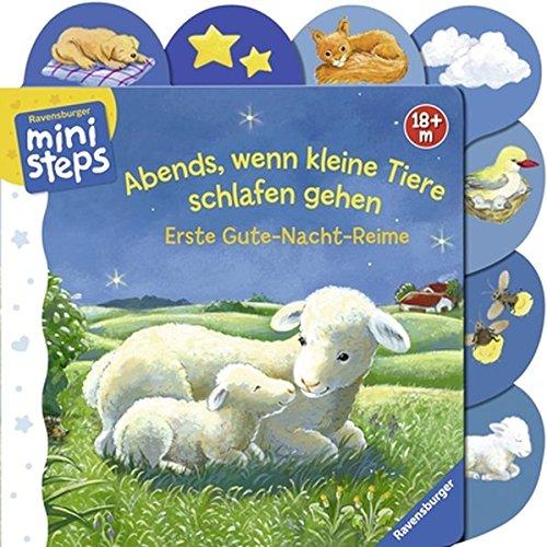 Abends, wenn kleine Tiere schlafen gehen: Ab 18 Monaten (ministeps Bücher)