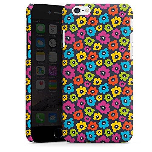 Apple iPhone X Silikon Hülle Case Schutzhülle Blumen Muster Bunt Premium Case matt