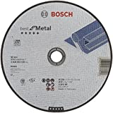 Bosch 2 608 603 530  - Disco de corte recto Best for Metal - A 30 V BF, 230 mm, 2,5 mm (pack de 1)
