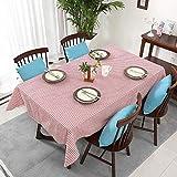 YATING Mantel Rectangular Lavable Mesa de Comedor de diseño para Mesa de Cocina o Sala de estarTela...