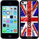 DesignedByIndependentArtists Coque Silicone pour Iphone 5C - Londres by Brian Raggatt