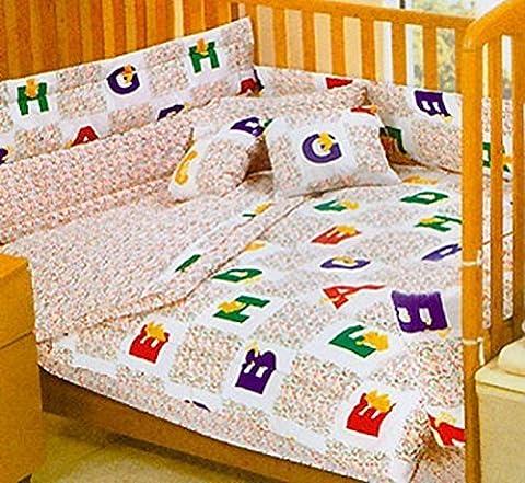 Alphabet Bears ABC Toddler Bedding Crib Comforter Set by Store 51