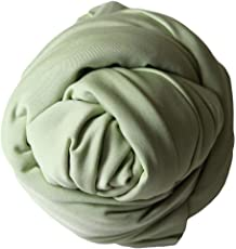 Voberry Unisex-Baby Newborn Photography Props - Long Ripple Stretch Wrap Photo Blanket Props for 40 * 160cm/15.7 * 63.0 Mint Green