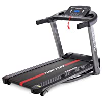 MAXPRO PTM405 2HP(4 HP Peak) Folding Treadmill, Electric Motorized Power Fitness Running Machine with LCD Display and…