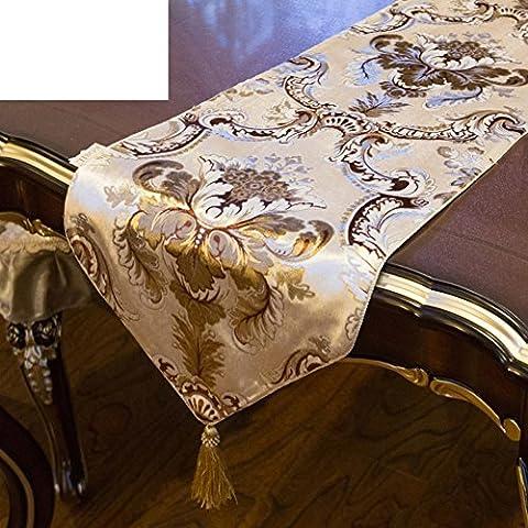 Chemin De Table D'américano-européen,Art Décoratif Guéridon Longue Chiffon Table Chemin