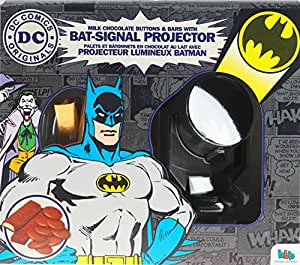 Batman easter gift set milk chocolate projector bat signal night light torch - Batman projector night light ...
