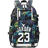 Mochila Star del jugador de baloncesto, mochila para niños, mochila escolar, bolsa de hombro, mochila de viaje para estudiant