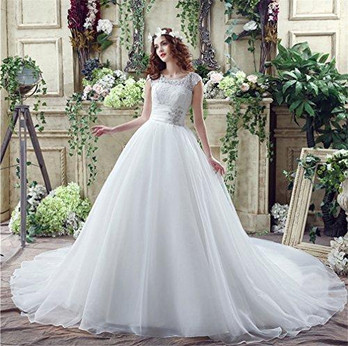 LUCKY-U Brautkleid, Hochzeitskleider Bequeme Brautkleid Brautkleid Brautkleid Bridemaid Unique...