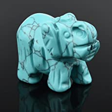 Mamum Jade Elefanten 1,5 Zoll, Elefant Jade Edelstein ornat craft papierbeschwerer (c) 1pcs Hand geschnitzt