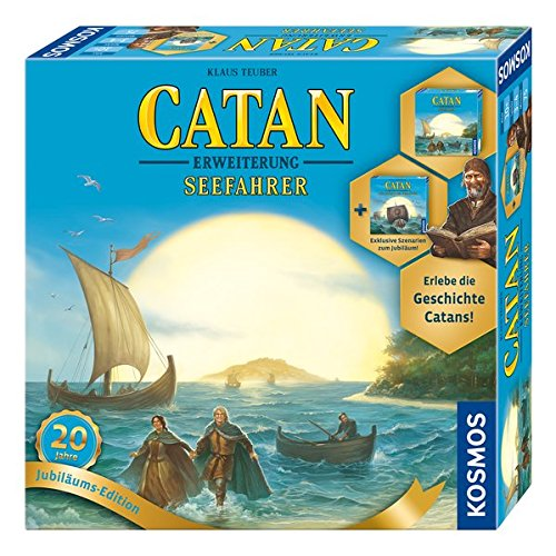 CATAN - Erweiterung Seefahrer - Jubiläumsedition