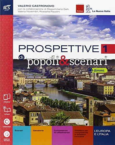 Prospettive di popoli & scenari. Con Atlante-Quaderno-Extrakit-Openbook. Per le Scuole superiori. Con e-book. Con espansione online: 1
