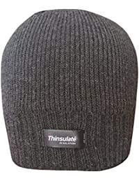 Men's Thinsulate Insulation Thermal Knit Fleece Lined Warm Winter Beanie Hat