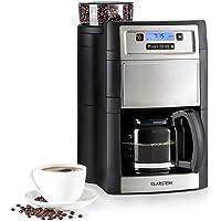 Klarstein Machine à café Aromatica II avec moulin noir ou argent