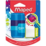 Maped Connect 49220 Colour Duo Gomme et taille-crayon Couleurs assorties