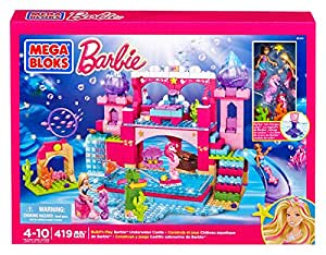 Mega Bloks - 80241 - Jeu De Construction - Barbie - Château De Sirène