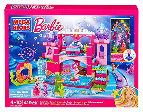 Mega Bloks 80241 - Barbie Meerjungfrau Unterwasser Schloß