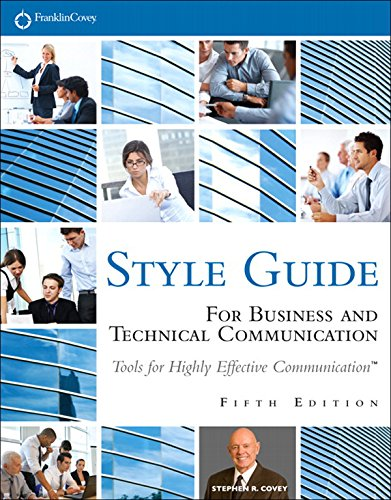 FranklinCovey Style Guide: For Business and Technical Communication (English Edition)