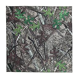 True Timber Cotton Camouflage Print Bandana from True Timber