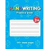 Handwriting Practice Book: Preschool Writing Practice Book, for children ages 3-5