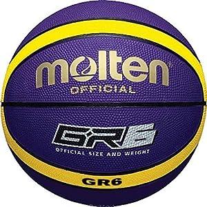 Molten bgr6-vy caoutchouc série FIBA Compatible haute qualité 12 Panneau BASKETBALL NEUF 11