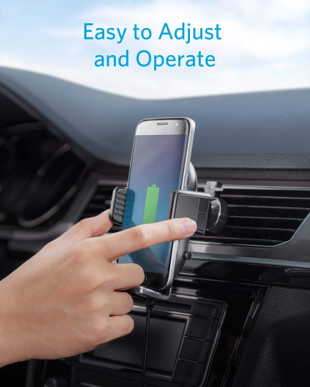 Anker-PowerWave-Wireless-Car-Charger-drahtloses-Auto-Ladegert-Blitzschnelles-Ladepad-fr-Autos-mit-Lftungshalterung-Qi-Zertifiziert75W-fr-iPhone10W-fr-Samsung-5W-fr-Qi-fhigen-Handys