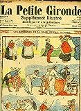 LA PETITE GIRONDE SUPPLEMENT ILLUSTRE - 9EME ANNEE N° 35 SEPT 1906 - les sonneries de la mère dazofe par Blondeau - un enfant obéissant par Haye - diagnostic parTh.Barn - une riche occasion par E.Tap - doublelard n'a pas de chance par Forton etc.