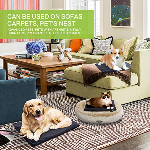 Zoom IMG-2 pecute tappetino riscaldante per cane