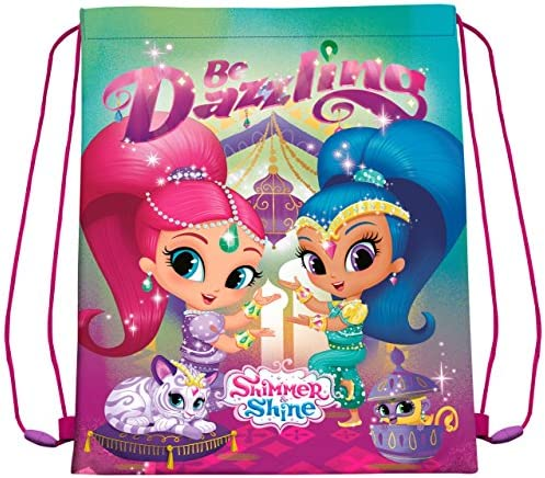 Disney - Shimmer and Shine Sac de Sport, SH17069, 40 X 30 cm B079M8J1GQ   D'arrivée Nouvelle Arrivée