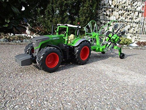 RC Auto kaufen Traktor Bild 4: RC Traktor FENDT 1050 SCHWADER-Anhänger XL Länge 70cm