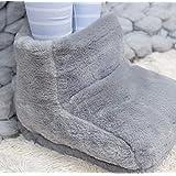 ParZ Pantofole riscaldanti USB Morbido riscaldato Peluche Riscaldato Pantofole Stuoia Cuscino Riscaldato Elettrico Scaldapied