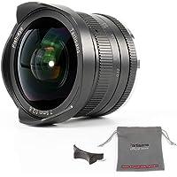 7artisans 7.5mm f2.8 APS-C Weitwinkel-Fisheye Feste für kompakte spiegellose Kameras Canon EF-M Mount M1 M2 M3 M5 M6 m10…