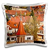 Danita Delimont - Germany - Skyline of Bamberg, Germany - EU10 MDE0017 - Michael DeFreitas - 16x16 inch Pillow Case (pc_137142_1)