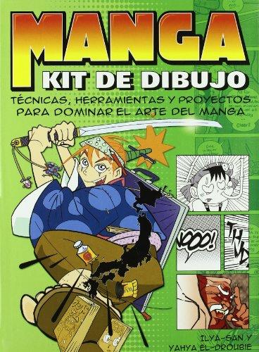 Kit completo de dibujo manga (Artes, técnicas y métodos) por Ilya-San